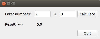 Example GUI